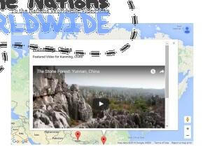 To the Nations Worldwide Video Map: Contact us with your travel videos to be featured on this map.