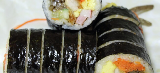 Kimbap or Gimbap in South Korea
