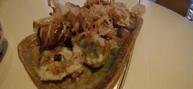 Takoyaki in Japan