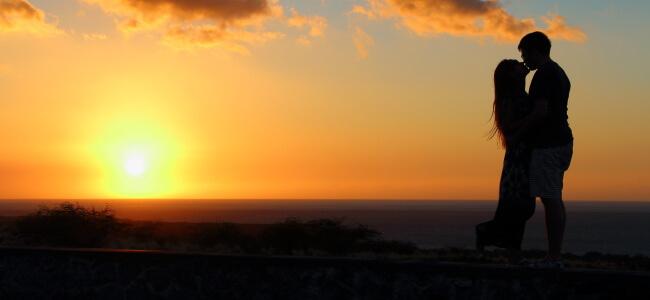 Sunset in Kona, Island of Hawaii, Hawaii