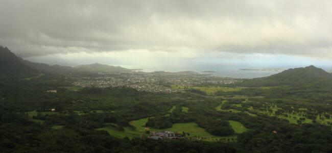 Nu'uanu Pali Lookout, O'ahu, Hawaii