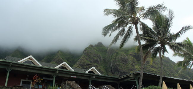 Movie Tour of Kualoa Ranch, O'ahu Island, Hawaii
