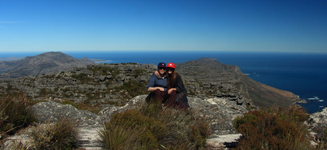 Hiking Table Mountain, Cape Town, South Africa